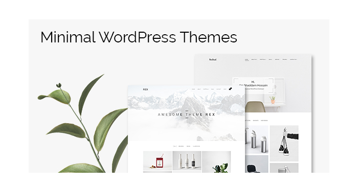 Minimal WordPress Themes for April 2017