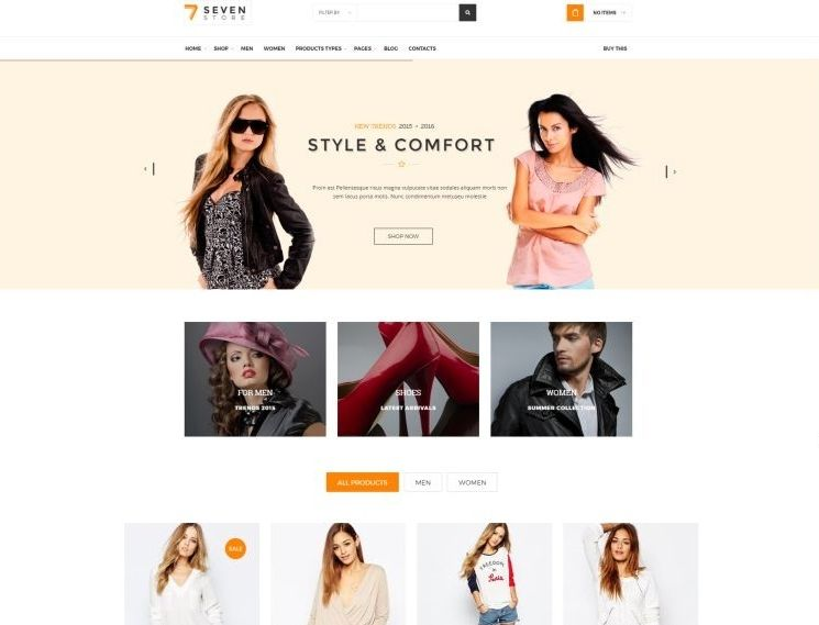 Clothes and Shoes WordPress Themes for Spring 2017 | GT3 Themes