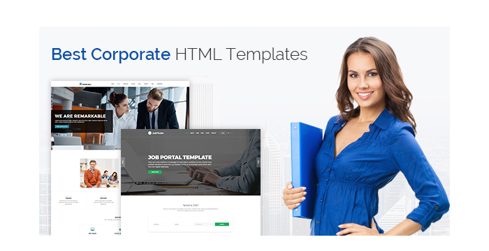 Best Corporate HTML Templates for April 2017