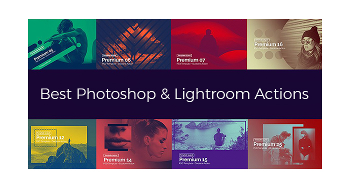 Best Photoshop and Lightroom Actions for Photographers in 2017