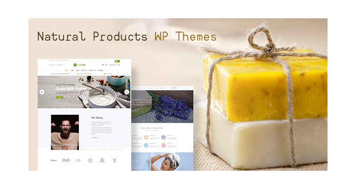 Handmade Soap and Natural Beauty Products WordPress Themes for 2017