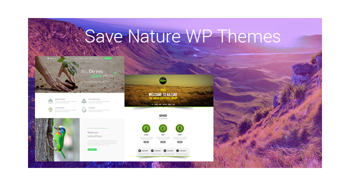 Wild Animals and Nature Protection WordPress Themes for Spring 2017