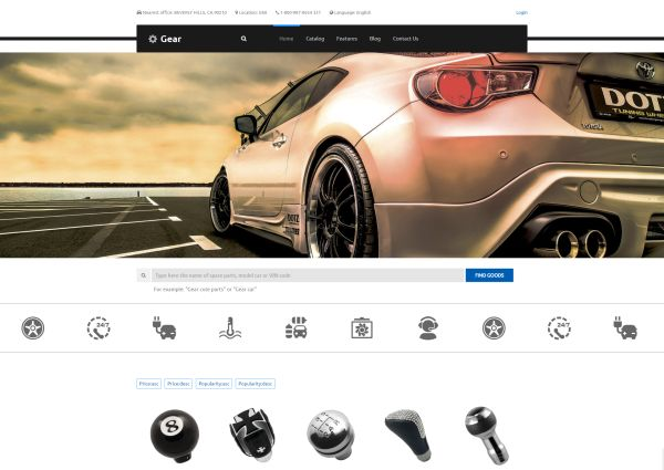 Auto Parts, Car Tuning and Auto Repair WordPress Themes | GT3 Themes