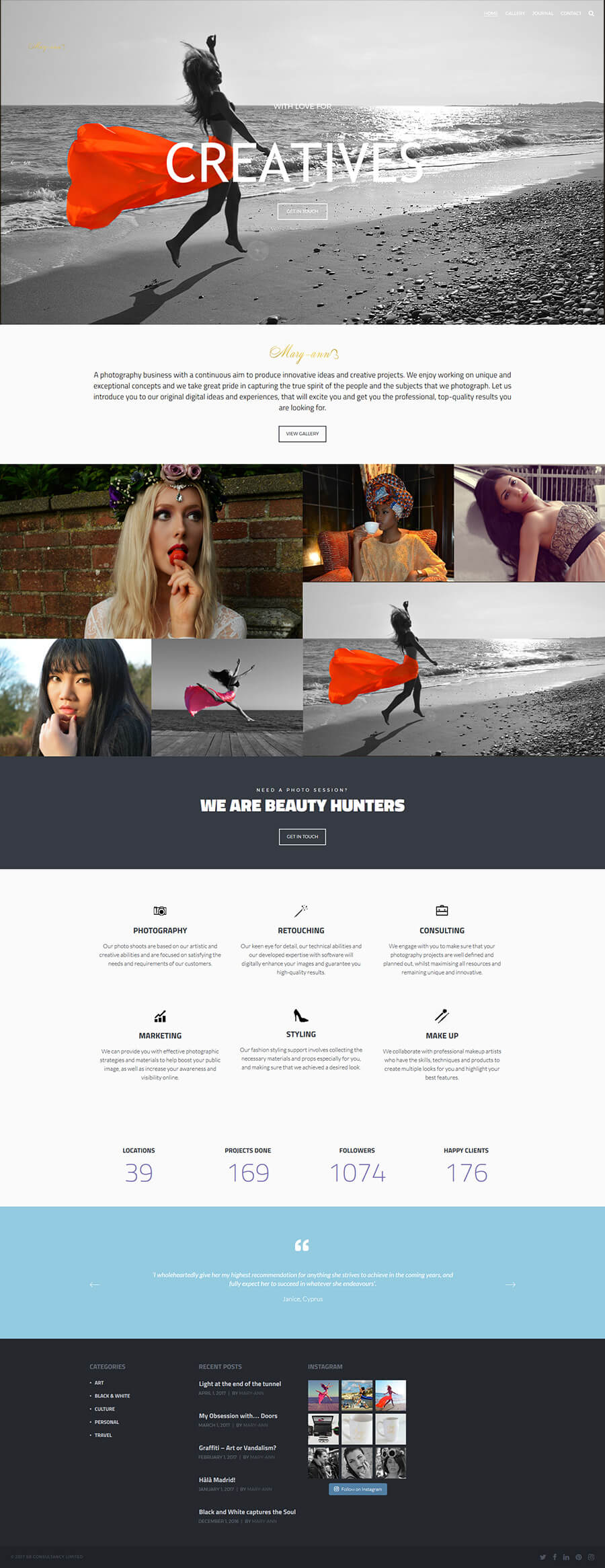 How To Create A Photography Website In 5 Minutes