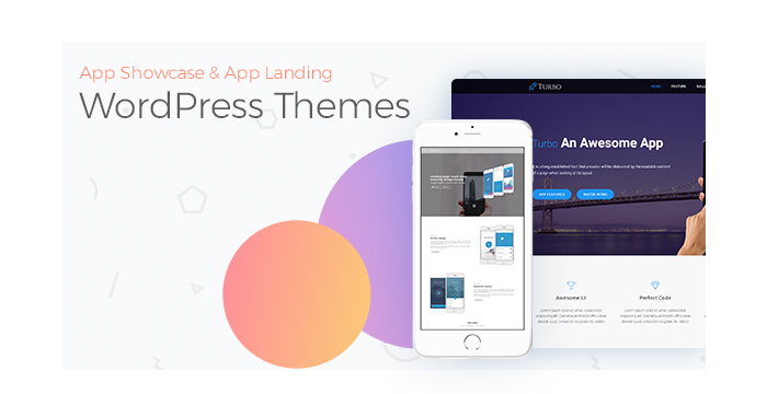 App Showcase and App Landing WordPress Themes for May 2017