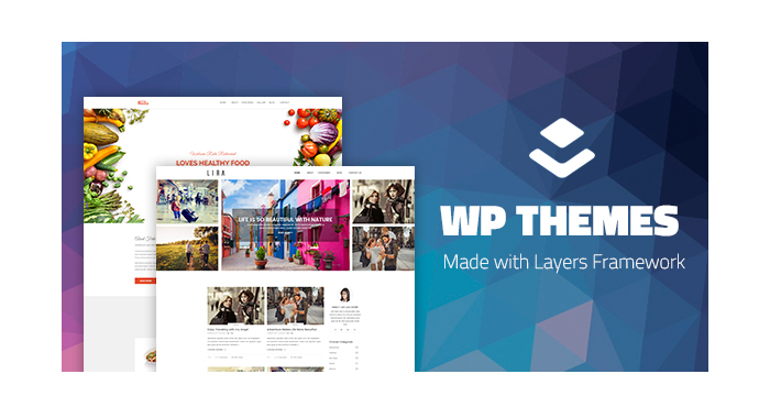 Awesome WordPress Themes Made with Layers Framework