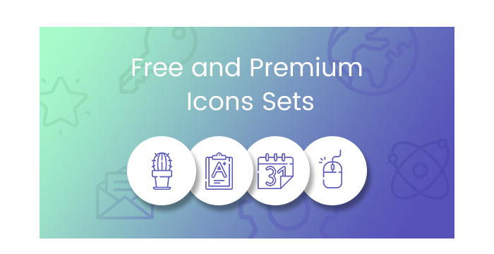 Free and Premium Icon Sets that Amaze and Amuse