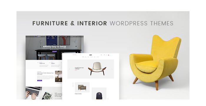 Furniture and Interior WordPress Themes - A Hand-Picked Bunch