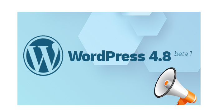 WordPress 4.8 Beta 1 Version is Available for Testing