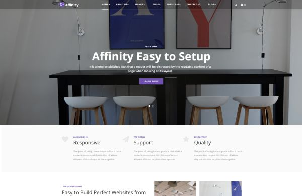 Furniture And Interior Wordpress Themes A Hand Picked Bunch Gt3 Themes