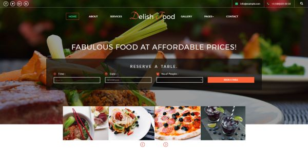 Pizza and pizzeria html templates for may 2017 gt3 themes a premium restaurant themed multipurpose website which is the best choice for all your restaurant or food business websites expand your business on the web forumfinder Images