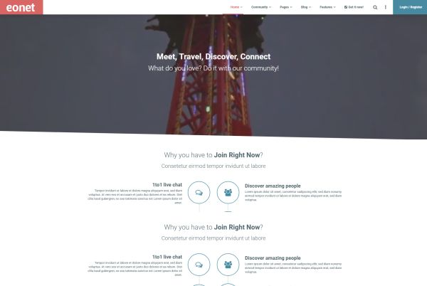 BuddyPress WordPress Themes for Forums, Portals, and More | GT3 Themes
