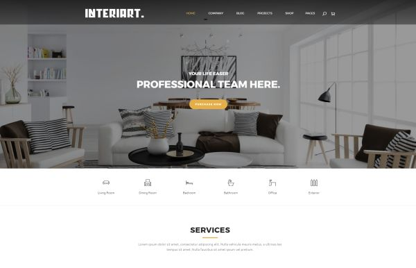 Furniture and Interior WordPress Themes – A Hand-Picked Bunch | GT3 ...