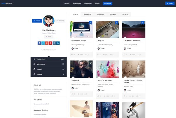 A Responsive And Modern Social Network WordPress Theme Allowing You To Create Your Very Own Website In Minutes The Has Hundreds Of