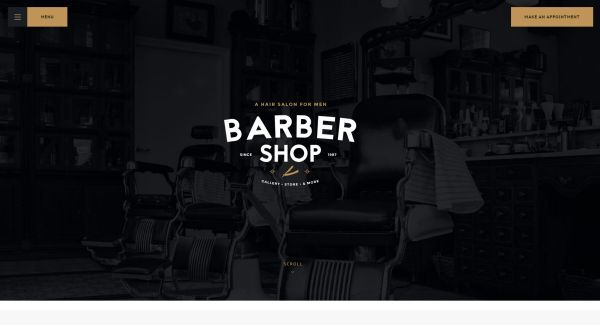 Barber Shop and Tattoo Salon WordPress Themes for May 2017 | GT3 ...