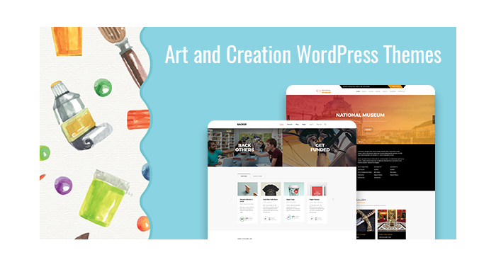Art and Creation WordPress Themes for July 2017