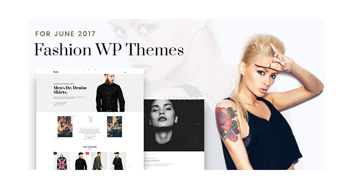 Fashion WordPress Themes for June 2017