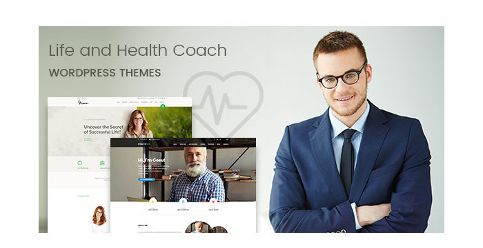 Life and Health Coach WordPress Themes for Personal Development