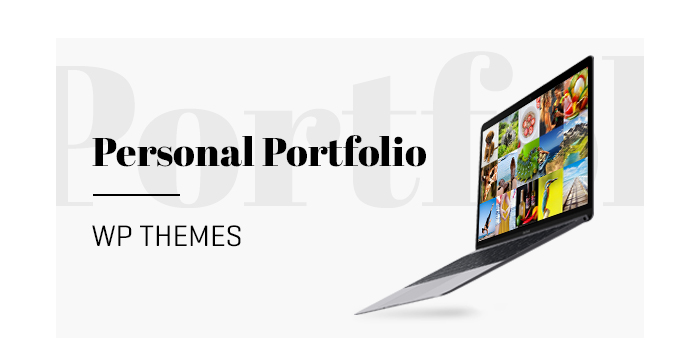 Personal Portfolio WordPress Themes for June 2017