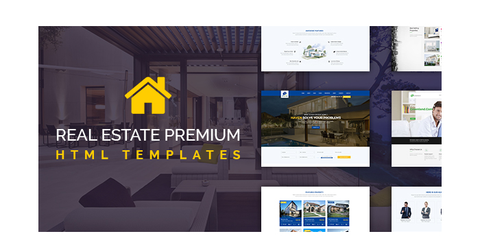 Real Estate Premium HTML Templates for June 2017