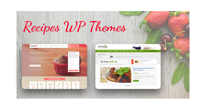 Recipes WordPress Themes for June 2017