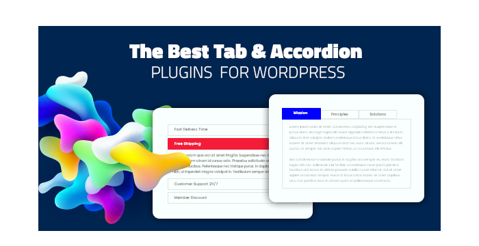 The Best Tab and Accordion Plugins and Widgets for WordPress