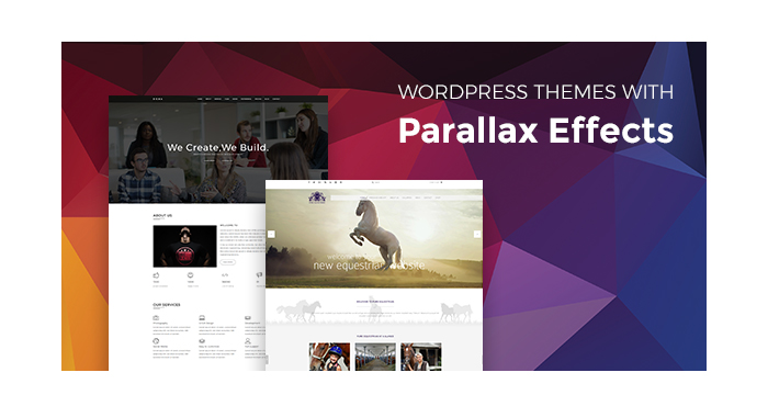 The Hand-Picked WordPress Themes with Beautiful Parallax Effects