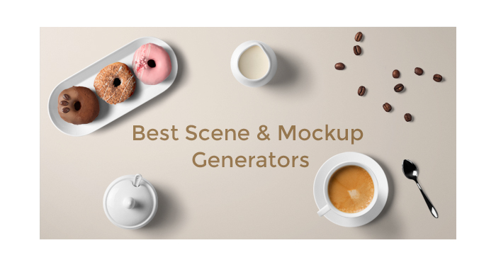 Best Scene and Mockup Generators for July 2017