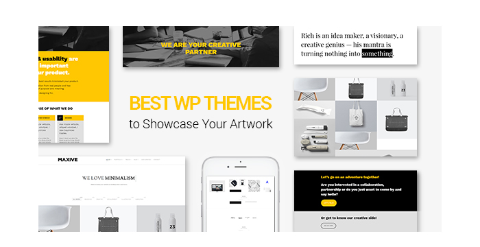 Best WordPress Themes to Showcase Your Artwork
