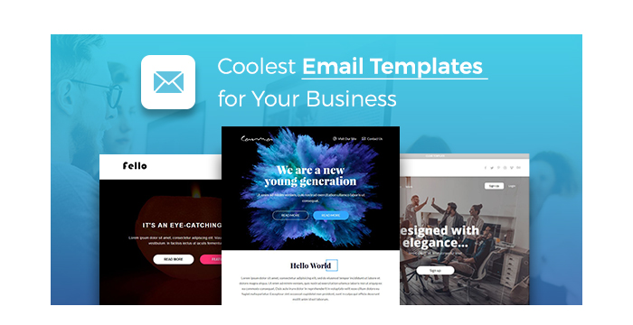 Coolest Email Templates for Your Business