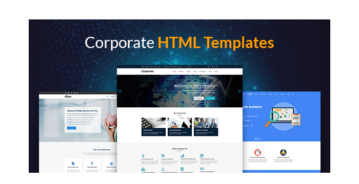 Corporate HTML Templates for July 2017