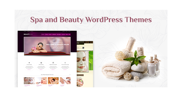 Spa and Beauty WordPress Themes for This Summer