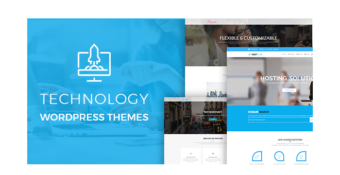 Technology WordPress Themes for July 2017