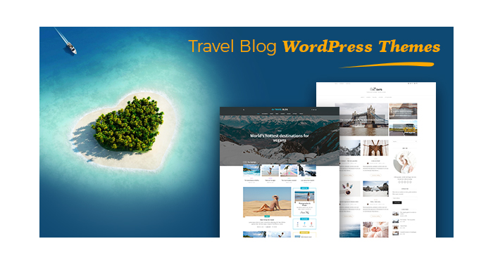 Travel Blog WordPress Themes for Adventure Lovers 2017