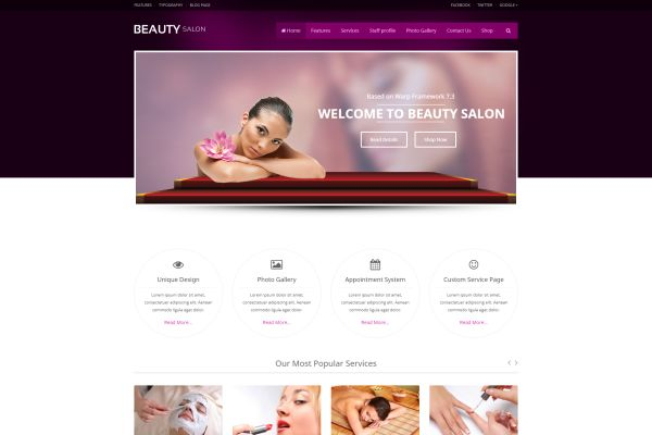 spa and beauty wordpress themes for this summer gt3 themes. Black Bedroom Furniture Sets. Home Design Ideas