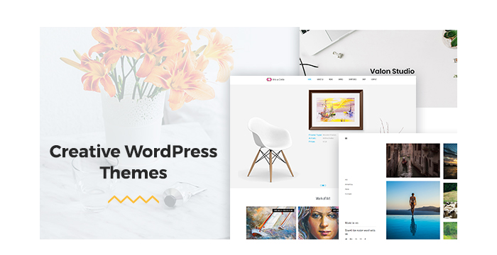 Creative WordPress Themes for Portfolios and Blogs