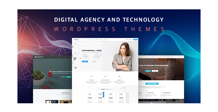 Digital Agency and Technology WordPress Themes 2017