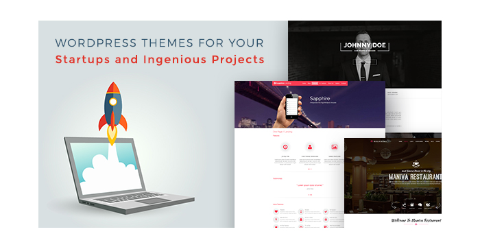 Magnificent One-Page WordPress Themes for Your Starups and Ingenious Projects
