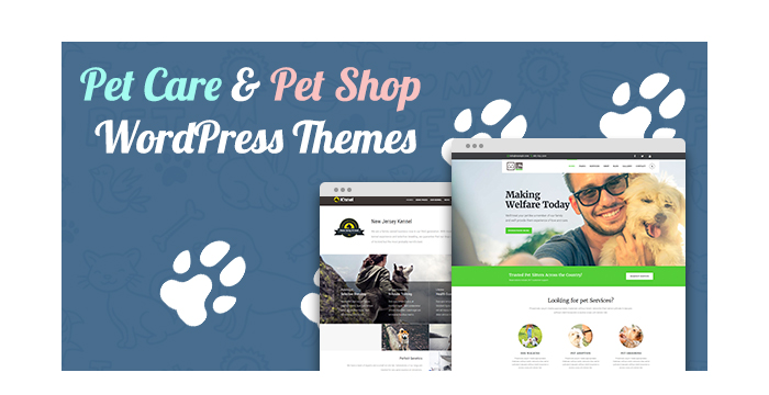 Pet Care and Pet Shop WordPress Themes for August 2017