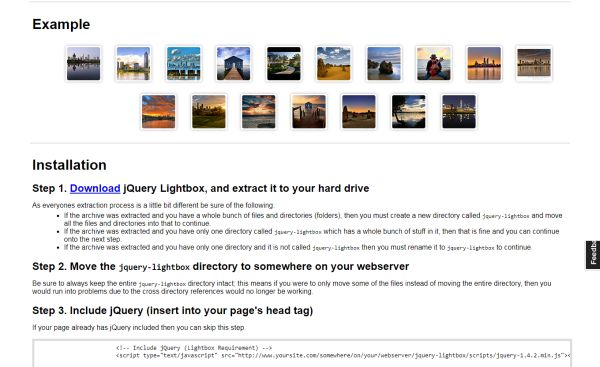 Awesome jQuery Lightbox Plugins and Scripts 2017 | GT3 Themes