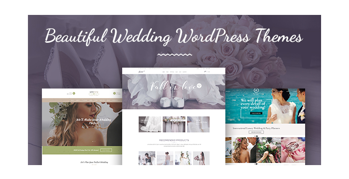 Beautiful Wedding WordPress Themes for Your Remarkable Date