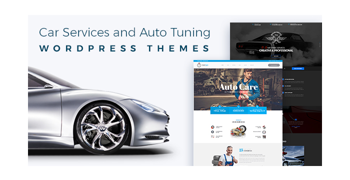 Car Services and Auto Tuning WordPress Themes for Repairmen and Auto Care Masters