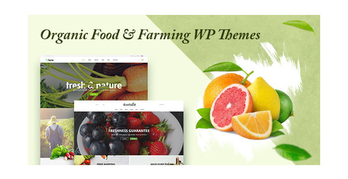 Organic Food and Farming WordPress Themes for September 2017