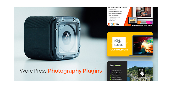 WordPress Photography Plugins to Fulfill Creative Ideas