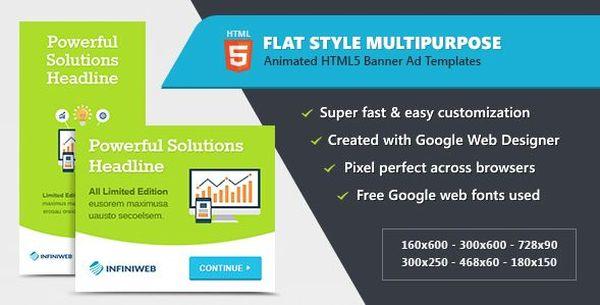 Top Best HTML Ad Templates To Greatly Promote Your Products GT - Display ad templates