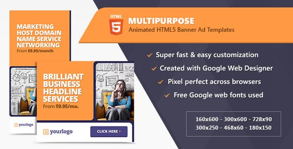 Ad html5 template forex