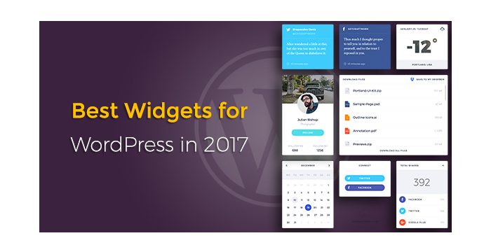 Best Widgets for WordPress in 2017