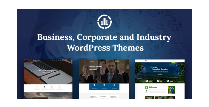 Business, Corporate and Industry WordPress Themes for Autumn 2017