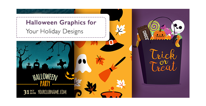 Halloween Graphics for Your Holiday Designs (Flyers, Icons, and More)