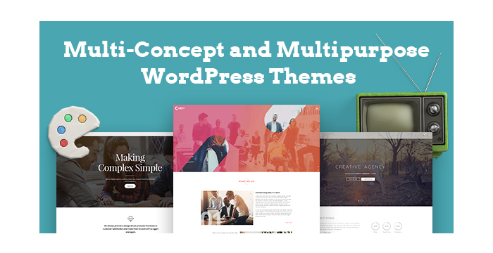 Multi-Concept and Multipurpose WordPress Themes for October 2017
